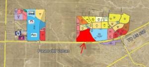 Green2V Location Map